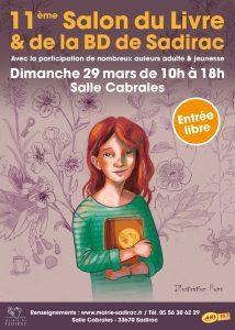 Salon du livre de Sadirac (33) @ Salle Cabrales, Sadirac